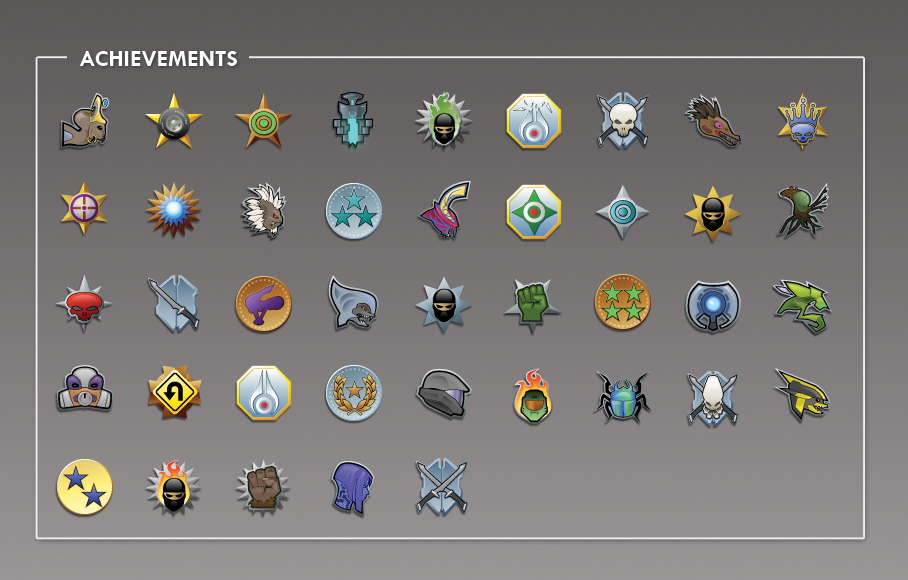 Achievement Icons